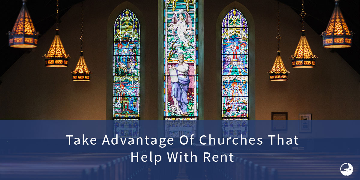 churches that help with rent